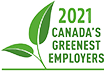 2021 Canada's greenest employers award.