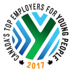 2017 Canada's Top Employers For Young People.